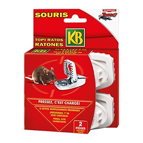 KB 2 pieges souris press'n set