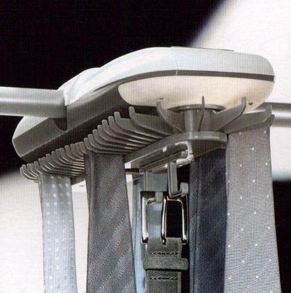 Tchibo Krawattenhalter elektrisch für bis zu 54 Krawatten