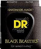 Best DR Strings Cuerdas Ukulele - DR A EXBK BKA-10Extra Black Beauties Lite Review