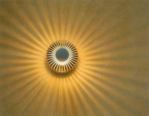 kiom-10045-sunbeam-white-applique-murale-effet-lumineux-protection-ip54