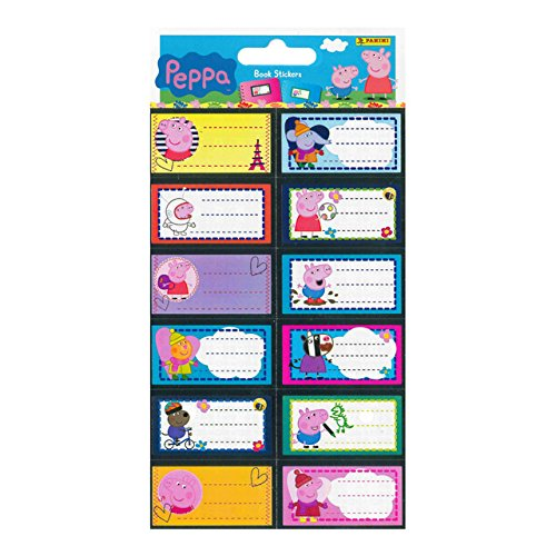 Peppa Pig – BOOK Stickers (Panini 700043 – 20 a-001 a)