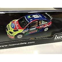 1:43 RALLY COCHE FORD FOCUS RS 07 WRC #3 1st Jordan 2008 1:43 IXO RALLYE RAM326
