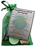 Travelling the World Survival Kit (Great novelty gift!)