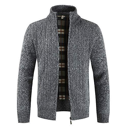 Oyedens Strickjacke Reißverschluss Herren | Hochwertige Trachten Strickjacke | Trachtenjacke Männer aus Feiner Wolle in Vielen Farben -