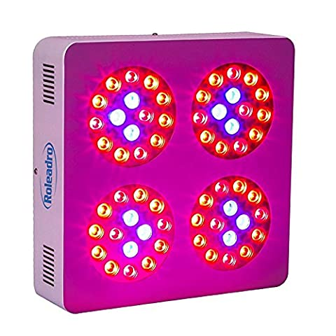 Roleadro Pflanzenlampe 300W LED Grow Light 60pcs