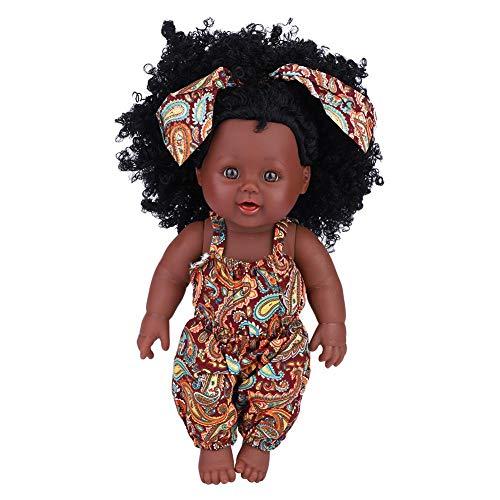 zerodis morbido bambino accompagnare bambola artificiale bambole bagno vinile ralistico tutto corpo reborn giocattoli interattivi per piccolo ragazzi ragazze compleanno regalo(yellow floral jumpsuit)