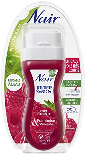 Nair - Ultimate Roll-On Cire Experte - Framboise & Verveine - 110 ml