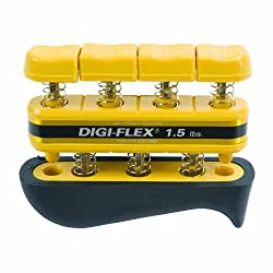 Digi-flex Yellow Hand & Finger Exercise System, 1.5 Lbs Resistance