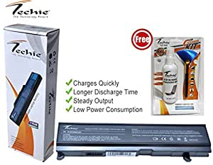 Techie compatible for Toshiba Satellite M45-S331 Laptop Battery