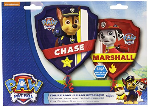 Amscan International S/Form Paw Patrol