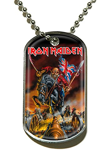 Maiden England Dog Tag Kette