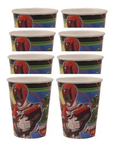 Power Rangers SPD 9oz Cups (8 Count) by Hallmark