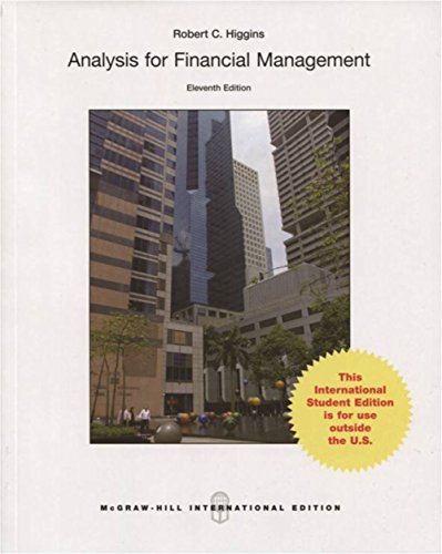 Analysis for Financial Management (Asia Higher Education Business & Economics Finance)