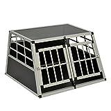 Hundetransportbox aus Aluminium (Double)