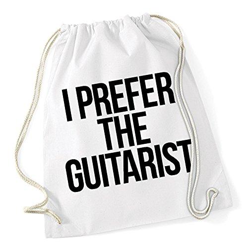 I Prefer The Guitarist Sac De Gym Blanc Certified Freak