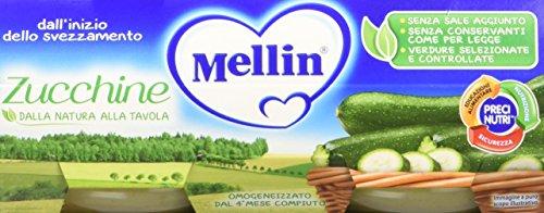 Mellin Omogeneizzato Zucchine 24 Vasetti da 80 gr