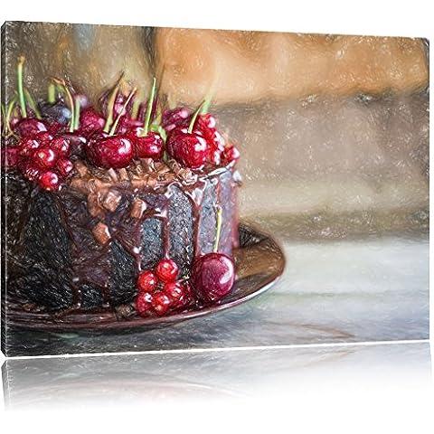 Celeste torta al cioccolato effetto Bunstift, formato: