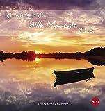 Ich wünsch dir stille Momente Postkartenkalender - Kalender 2018