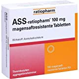 ASS-ratiopharm 100 mg Tabletten, 100 St.