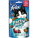 Purina Felix Party Mix Snack Gatto Ocean Mix al Gusto di Salmone,...