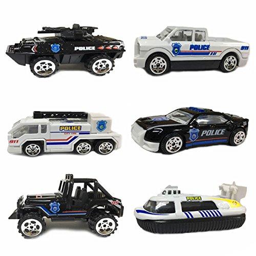 Preisvergleich Produktbild DMbaby Spielzeug für 3-5 Jahre alte Mädchen,  Spielzeug Autos Set 6 für Junge Kleinkinder Geschenke für 1-2 Jahre alte Schwarze Weihnachten DMC07