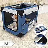 Klappbare Transportbox für Hund Katze & Kleintier in den Größen S – XXXXL wählbar inklsuive Polster - 6