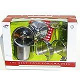 Toys Outlet Kitchen 5406286473. Set de Cocina de Aluminio.
