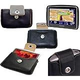 Etui en cuir pour GPS TOMTOM GPS Portables Series TOM TOM Go 740 Go 750 950 940 Live..* Parfait sacoche de transport pour GPS et Navigation
