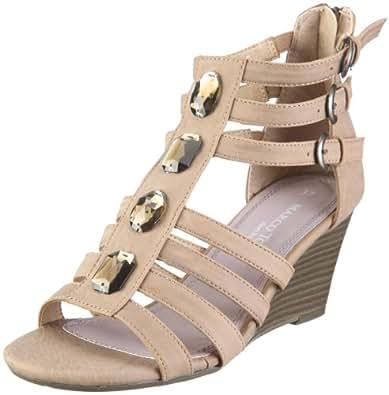Marco Tozzi Women's Sandal Brown/CIGAR UK 7