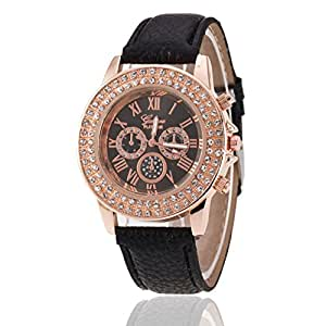 Womens geneva quartz watches analog clearance lady wrist watch female watches on sale watches for Watches clearance