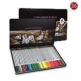 Matita idrosolubile colore 24/26/48/72 colore piombo matita colore matita pittura a mano pastelli dipinti.