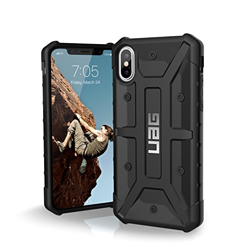 Urban Armor Gear Pathfinder per Apple iPhone Xs / X Custodia protettiva Cover con standard militare americano case [Compatibile con il Qi wireless] - nero