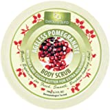 Beauty Aura Ageless Body Scrub Pomegranate 6.9 Ounce