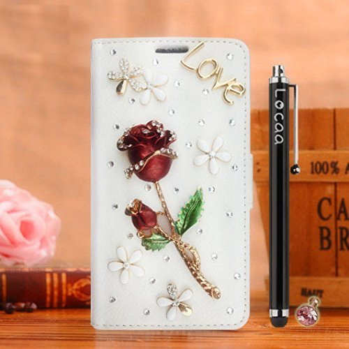 locaatm-pour-alcatel-onetouch-flash-plus-2-3d-bling-rose-case-coque-fait-love-cuir-qualite-housse-ch