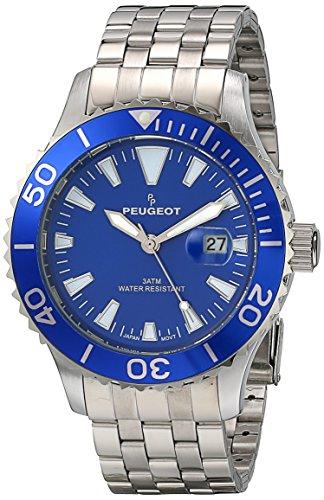 peugeot-1028sbl-da-uomo-con-cricchetto-blu-cornice-sport-watch