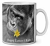 Nome personalizzato Gorilla tazza da tè/caffè idea regalo