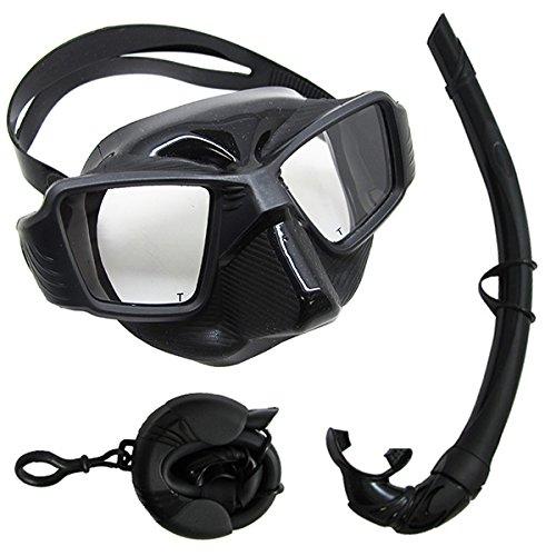 Scuba Wahl für das speerfischen kostenlos Dive Ultra Comfort Fit Silikon Tauch Maske und Reisen Schnorchel Set