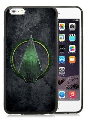 Unique iPhone 6Plus/iPhone 6S Plus d'écran Coque en TPU, populaire et durable Conçu avec motif super-héros Marvel Avengers Green Arrow noir iPhone 6Plus/iPhone 6S Plus 14cm TPU Étui de haute