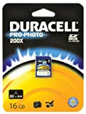 Duracell Class 10.200x ProPhoto SDHC Memory Card - 16 GB