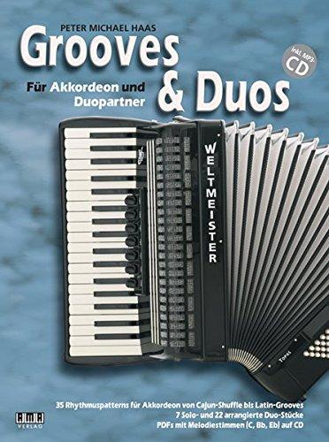 Grooves & Duos: Für Akkordeon und Duopartner