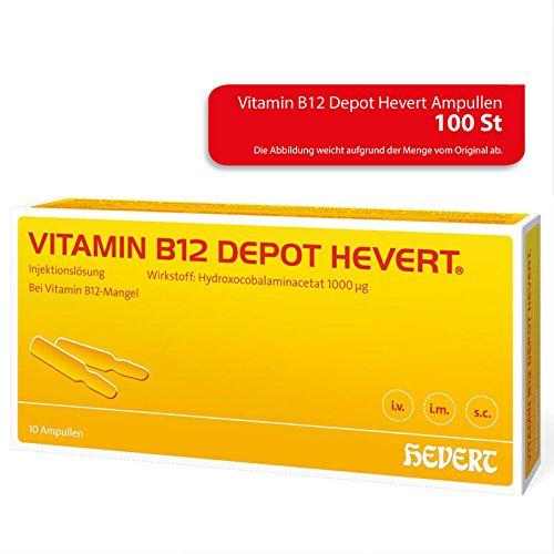 Vitamin B12 Depot Hevert Ampullen, 100 St. Ampullen