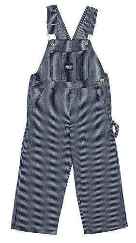 Kinder-Latzhose - Hickory-Streifen kinder latzhosen Blau jeans Baby Kleinkind