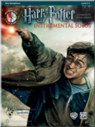 Harry Potter Instrumental Solos Alto Sax - Selections from the Complete Film Series - Altsaxophon Noten [Musiknoten]