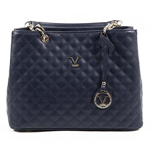 Versace 19.69 Abbigliamento Sportivo Srl Milano Italia Womens Handbag VE03 NAVY BLUE Dark Blue