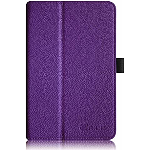 Fintie Acer Iconia Tab 8 A1-840 FHD Hülle – Hochwertige Kunstleder Slim Fit Stand Case Cover Schutzhülle Tasche Etui für Acer Iconia A1-840 FHD (8 Zoll) Tablet,