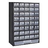 vidaXL Sortimentskasten 41-Fächer Sortimentsboxen Kleinteilemagezin Organizer