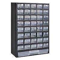 vidaXL Armario de Herramientas con 41 Cajones Plastico Caja de Ferretería