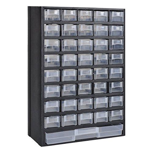 vidaXL 41 Plastik Schütten Sortimentsschrank Sortimentskasten Kleinteilemagezin