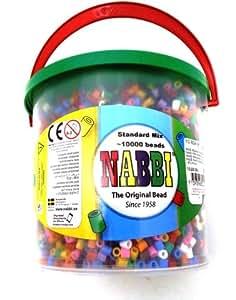 Nabbi Seau de 10000 perles à repasser