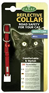 Canac Reflective Cat Collar - Red from Canac